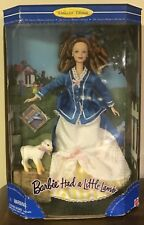 Barbie Had a Little Lamb Collector Edition 1998 NRFB Box has shelf wear