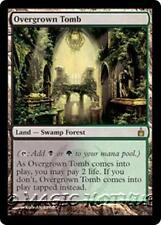 OVERGROWN TOMB Ravnica: City of Guilds MTG Land — Swamp Forest RARE