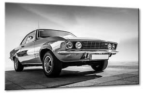 Leinwand Bild Opel Manta Stingray Stachelrochen Rot Kunst Art Canvas Front Kunst