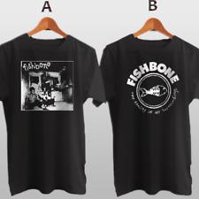 Fishbone Band American Alternative Rock New Cotton T-Shirt
