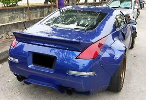 Nissan Fairlady 350Z Z33 Rocket Bunny Style Ducktail Spoiler Wing