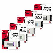 KINGSTON 16GB 32GB 64GB 128GB los datos TRAVELER DT50 3.0 Unidad Flash Memoria