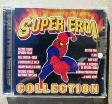 cd SUPER EROI COLLECTION spider-man batman flash x man Cover version Sigillato !