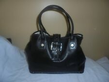 Used Michael Kors Black leather Large Handbag Satchel
