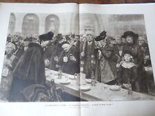 ILLUSTRATION 1918 3906 RAPATRIES EVIAN SEM JEAN DROIT FINLANDE LUYGHEM