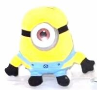25cm Despicable Me 2 Plush Soft Toy In Movie Minion Minions 3D Eye Doll Stewart.