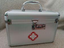Locking Prescrip Combination Lock Medicine Cabinet with Separate Compartments