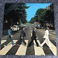 LP VINYL THE BEATLES ABBEY ROAD Misprint misaligned Apple UK 1ST PRESS PCS 7088