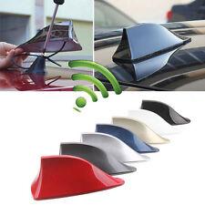 Car Vehicle Shark Fin Roof Antenna Aerial FM/AM Radio Signal Universal Trim Grey