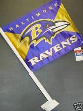 NFL Car Flag, Baltimore Ravens, NEW