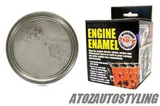 E-TECH SILVER  Engine Block Enamel PAINT Valves 250ml <<NEW>>