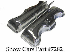 1963, 1964 VALVE COVERS 409 CHEVY CHEVROLET IMPALA SS BEL AIR WITH DRIPPERS