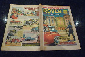 THE ROVER & WIZARD Comic - Date 20/11/1965 - UK Comic
