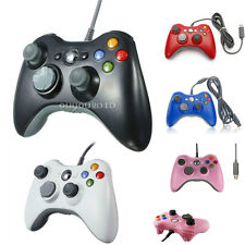 USB Wired Gamepad Joypad Controller For MICROSOFT Xbox 360 & Slim PC Windows 7