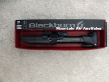 Blackburn Mountain Anyvalve Bicycle Pump With Mounting Bracket Universal