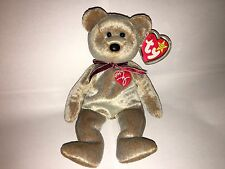 TY Beanie Baby 1999 SIGNATURE TEDDY Bear NEW! Old Stock RARE!!!