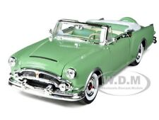 1953 PACKARD CARIBBEAN CONVERTIBLE GREEN 1/24 DIECAST CAR MODEL BY WELLY 24016