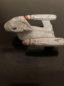 VINTAGE 1987 STAR TREK DIECAST METAL USS ENTERPRISE NCC-1701-D