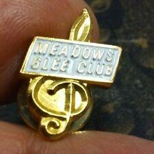 Meadows Glee Club pin badge