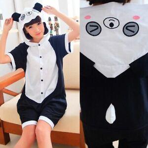 New Kigurumi summer adult jumpsuit pajamas anime cosplay costume