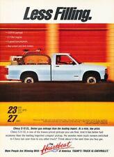 1991 Chevrolet S-10 EL Pickup Truck Original Advertisement Print Art Car Ad J243