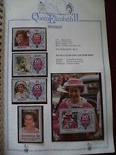 Royalty Single Montserratian Stamps