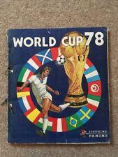 World Cup Panini Sticker Album Argentina 78, 100% Complete, ORIGINAL