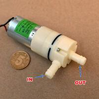 DC 6V 9V 12V Mini 370 Vacuum Pump Diaphragm Self-Priming Pump Water Suction Pump
