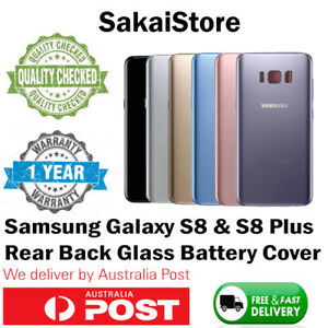 Samsung Galaxy S8 & S8 Plus Back Rear Glass Housing Battery Cover Case + TOOLS