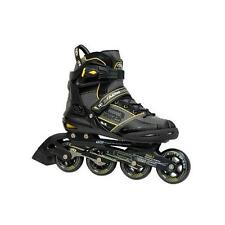 NEW!ROLLER DERBY AERIO Q60 INLINE SKATES MEN'S 11 Q-60 ROLLERBLADE ABEC 7 return
