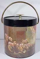 Declaration of Independence 1776 Vtg Thermo Serv Ice Bucket USA Americana
