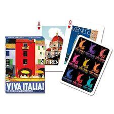 Viva Italia set of 52 playing cards + jokers (gib)