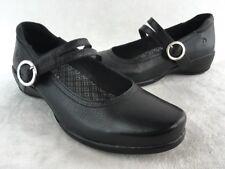 acc601fa7bd1 Aravon Tonya Black LTHR Mary Jane Size 7.5B D1409