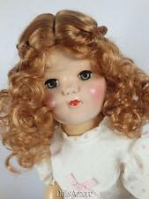 "CURLY GINGER WIG SIZE 8/9"" FITS VINTAGE AND MODERN DOLLS"
