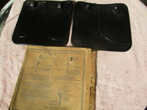 1934 NOS fender flaps for Chevrolet, Cadillac, Chrysler, Hudson, etc.