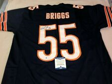 Lance Briggs Autographed Football Jersey-Beckett Certified-Chicago Bears