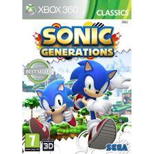 Sonic Generations Game (Classics) XBOX 360
