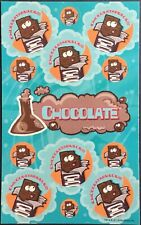 Dr. Stinky's Scratch & Sniff Stickers - Chocolate - Mint Condition!!
