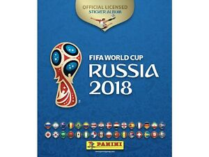 PANINI WORLD CUP 2018 CHOOSE YOUR STICKER FROM LIST NUMBERS 00-231