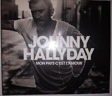 Johnny Hallyday Mon pays c'est l'amour (CD Livre 28 pages) - Edition Collector