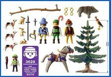 PLAYMOBIL 6564 / 3628 Fiesta de Cazadores, Hunting Party NUEVO SIN CAJA / NO BOX