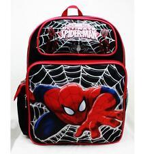 """Spiderman Medium Backpack School Bag 14"""" Licensed Newest by Marvel RUZ NWT"""