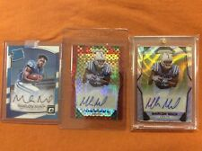 Marlon Mack AUTO Rookie LOT (3) Red prizm /50 wave /149 optic rated  #1/99 1