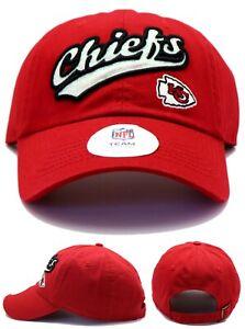 Kansas City Chiefs New NFL Ladies Women Glisten Script Glitter Red Era Hat Cap
