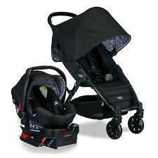 Britax 2018 Pathway Stroller & B-Safe 35 Car Seat Travel System Sketch Black New