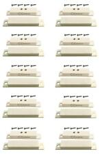 10 Pack - Suface Mount Magnetic Contacts for Security Alarm Systems Tane-60Qc