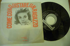 """MORT GARSON""""COME CONQUISTARE UN RAGAZZO-disco 45 giri DURIUM It 1965"""""""