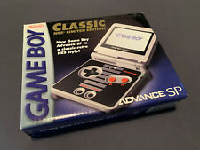 Brand New Nintendo Classic NES Limited Edition Game Boy Advance SP System