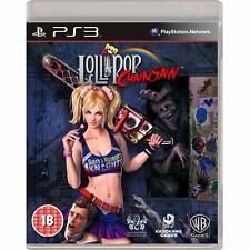 Lollipop Chainsaw PS3 NEW And Sealed