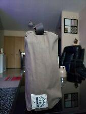 Levi's Travel Kit Toiletry Case Shaving Kit Leather Carrying Strap Zippered Oliv